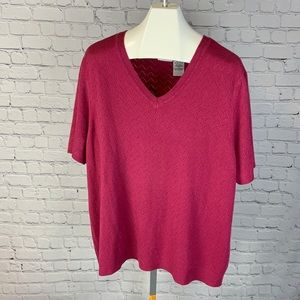 Women's White Stag short sleeve sweater size 22/24